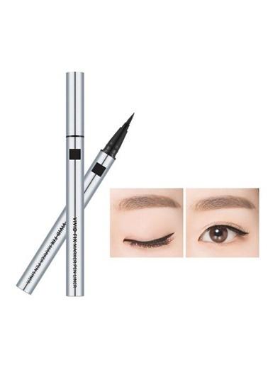 Missha Vivid Fix Marker Pen Liner (Deep Black) Siyah